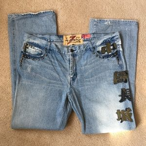 7 For All Mankind Men's Jeans Size 40 Straight Leg